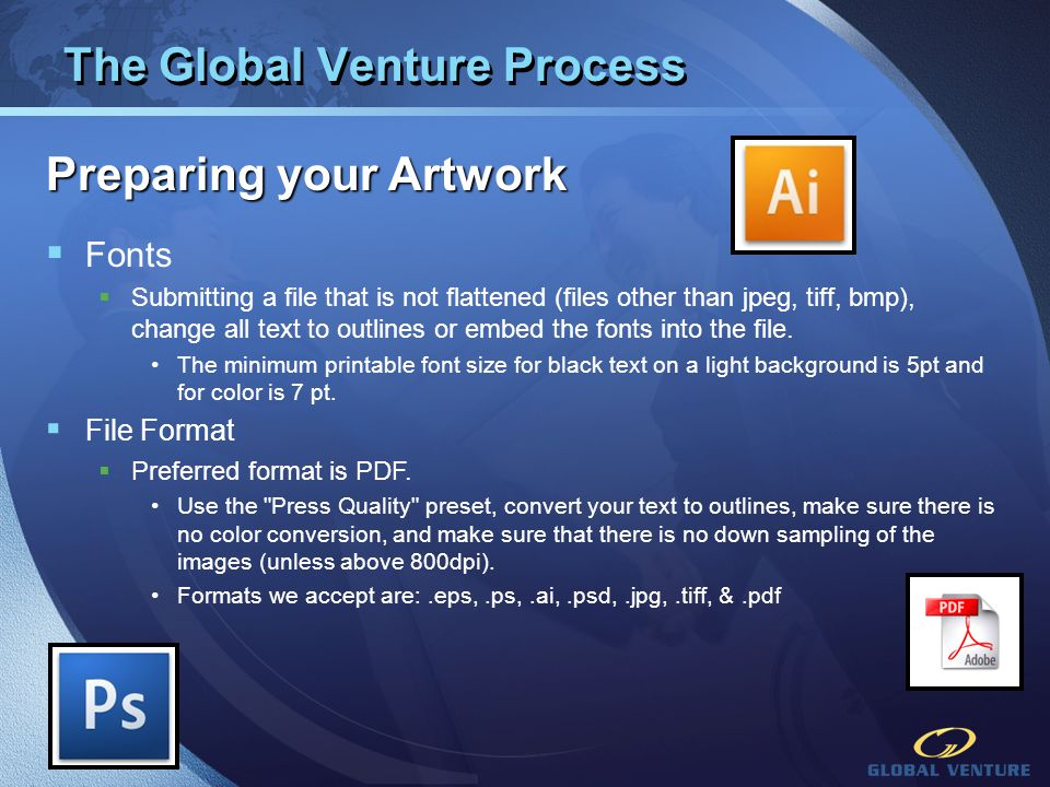 The Global Venture Process