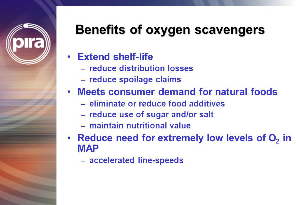 Benefits of oxygen scavengers