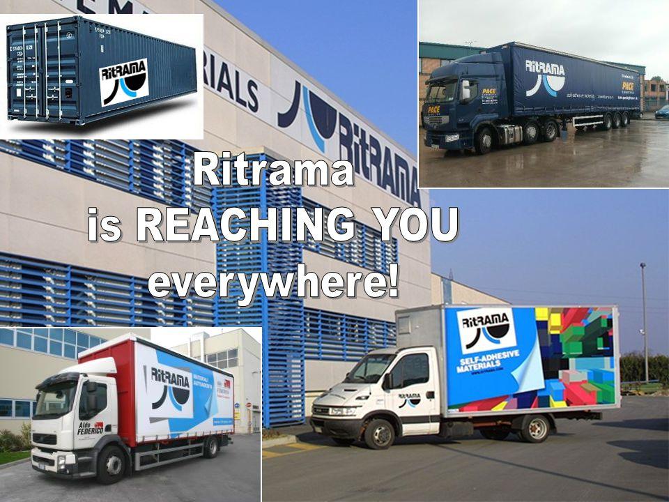 Ritrama is REACHING YOU everywhere!