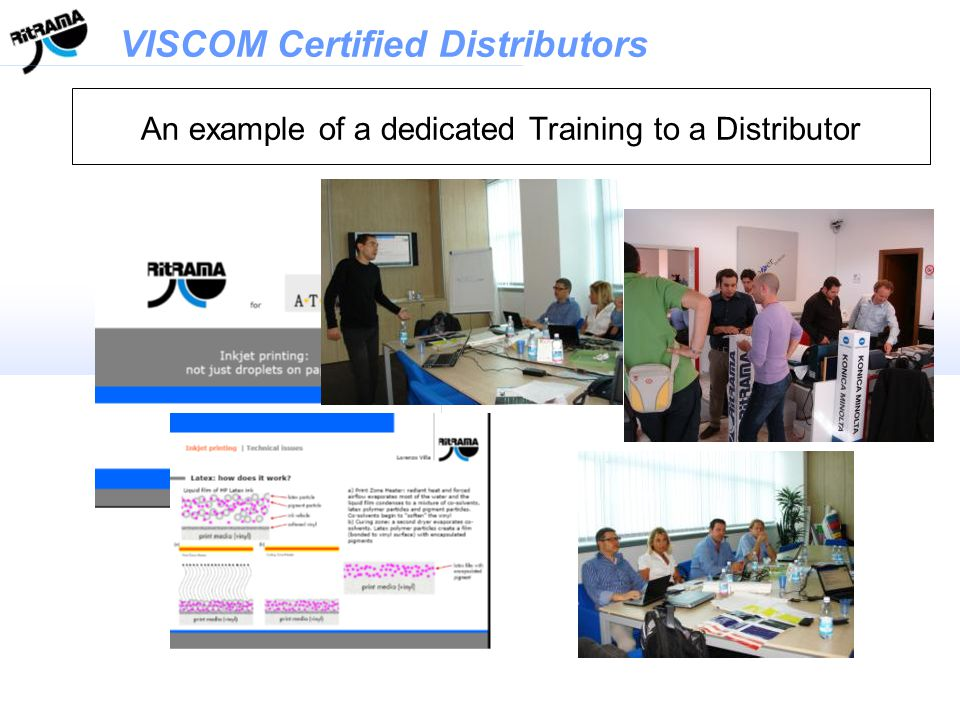 An example of a dedicated Training to a Distributor