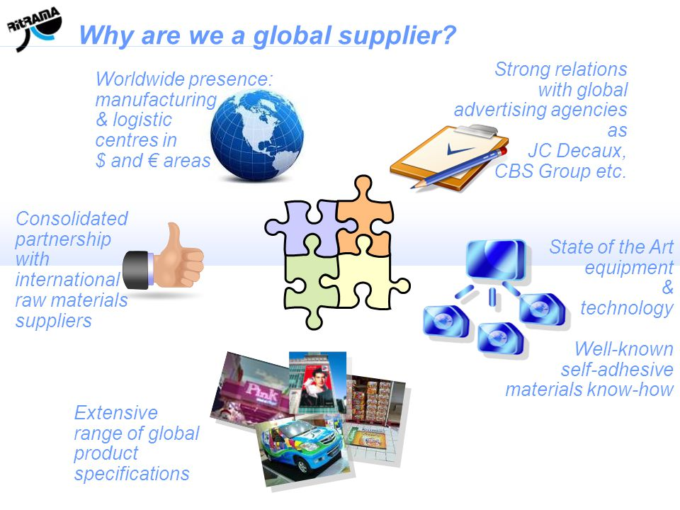 Why are we a global supplier