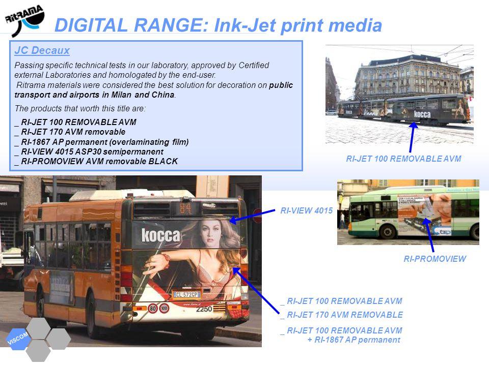 DIGITAL RANGE: Ink-Jet print media