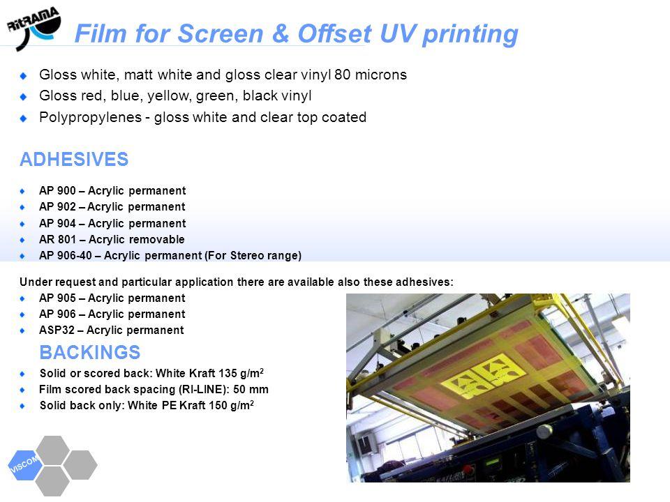 Film for Screen & Offset UV printing