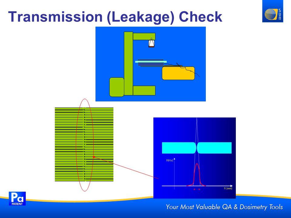 Transmission (Leakage) Check