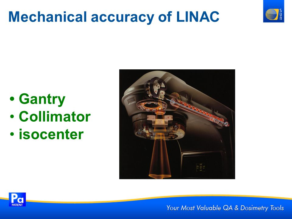 Mechanical accuracy of LINAC