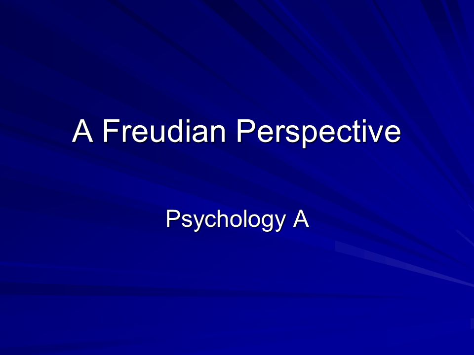 sigmund freud fundamental ideas including psychic determinism Christianity according to sigmund freud  the aim of this article is to examine the false foundations of freudian belief especially with regard to its interpretation of religion.