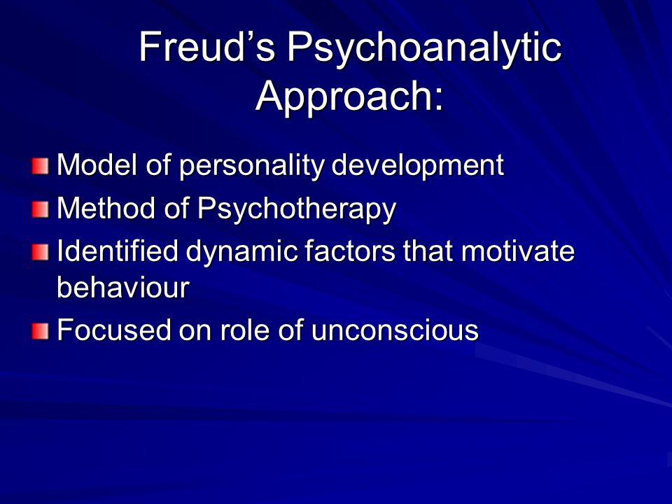 Freud's Psychoanalytic Approach: