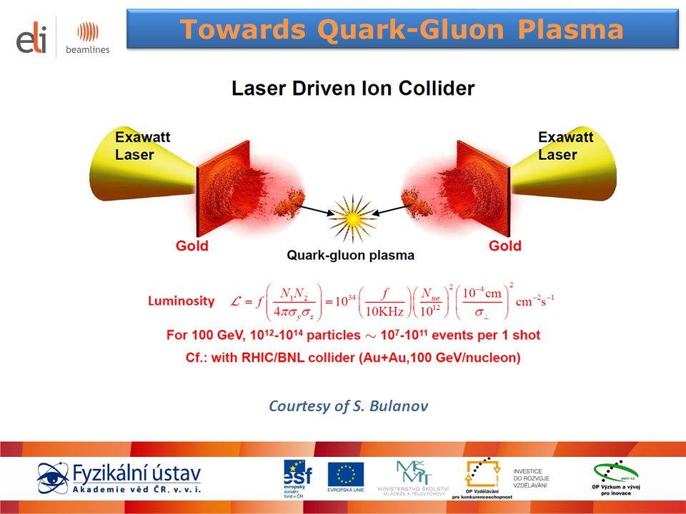 Towards Quark-Gluon Plasma