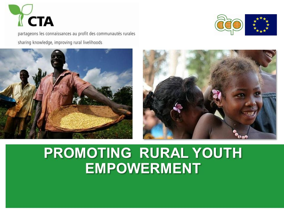 PROMOTING RURAL YOUTH EMPOWERMENT