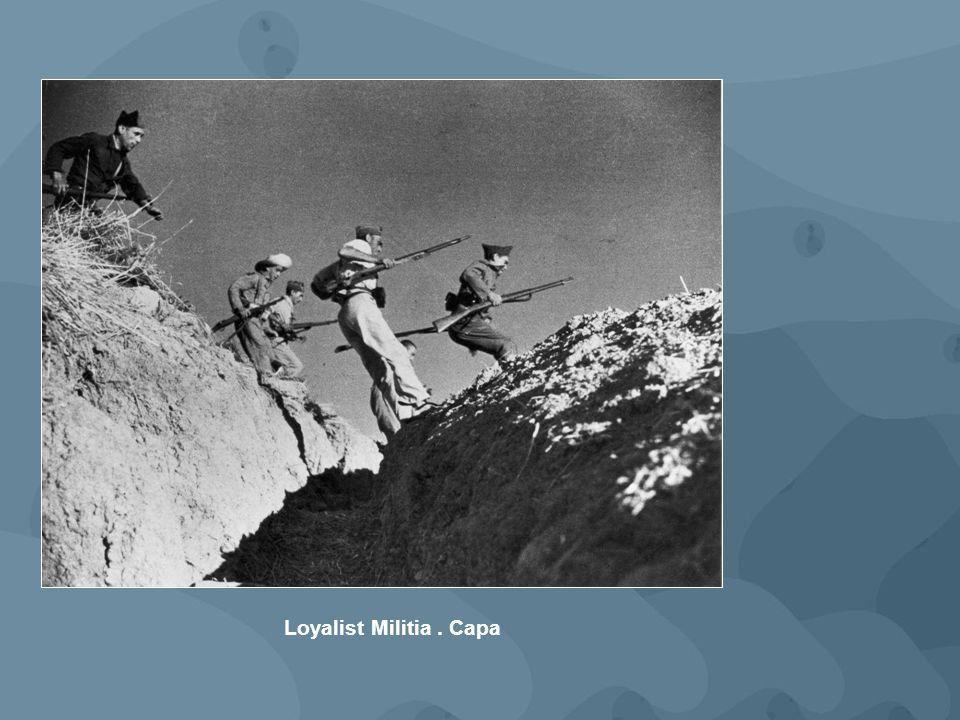 Loyalist Militia . Capa