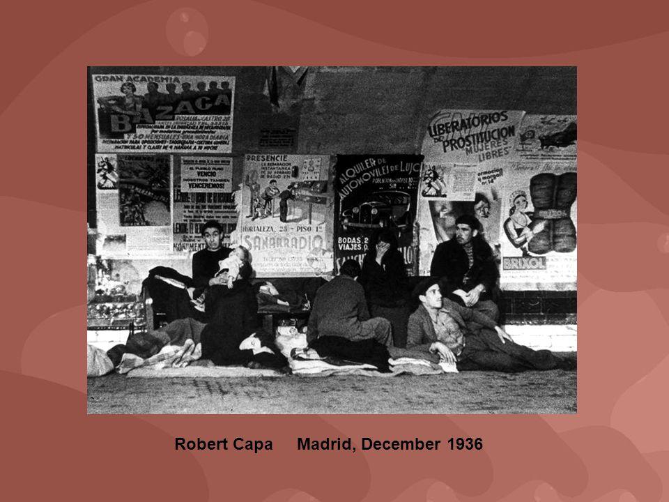 Robert Capa Madrid, December 1936