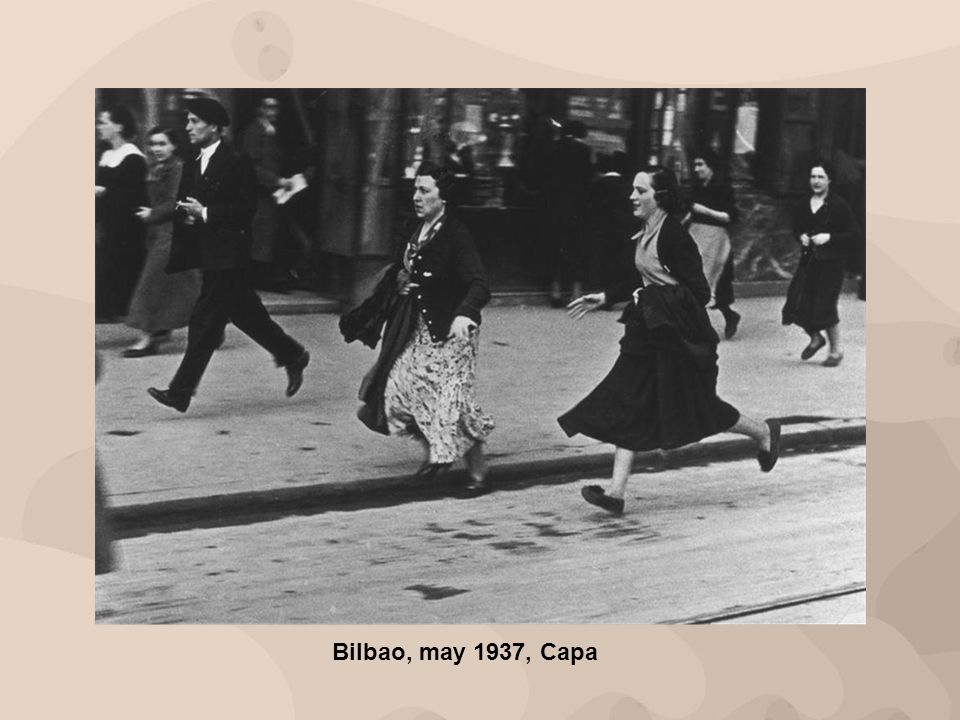 Bilbao, may 1937, Capa