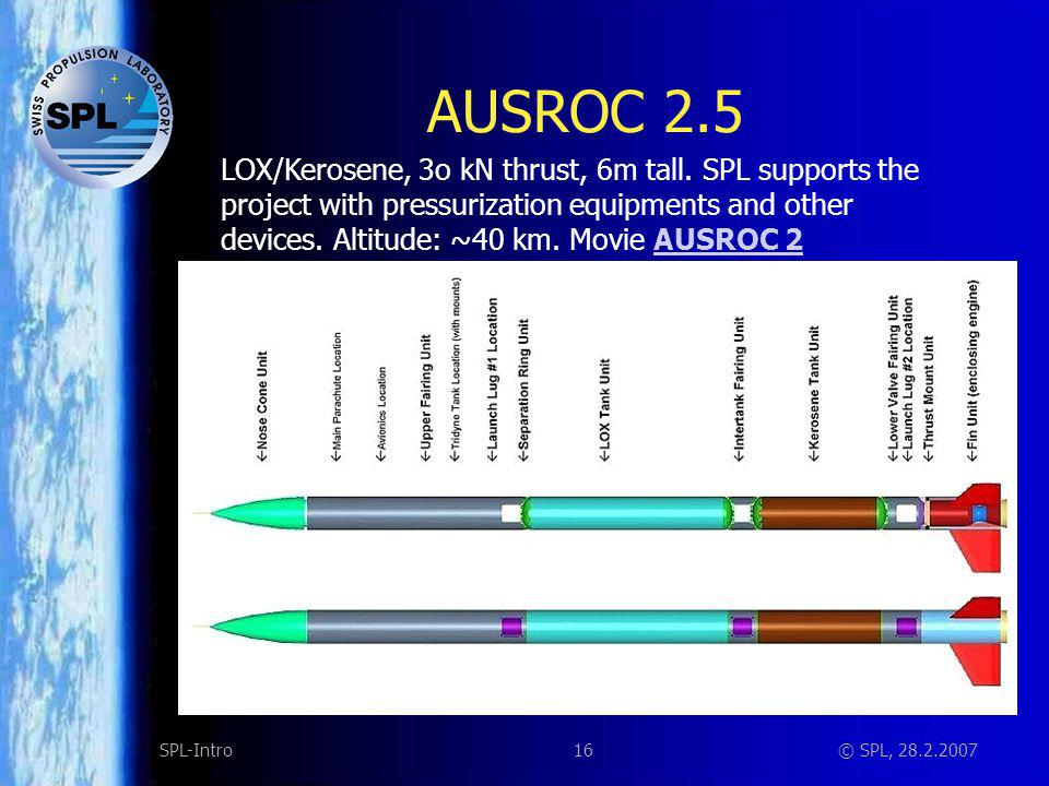 AUSROC 2.5 Staging mechanism: Designed and build by FHNW students.