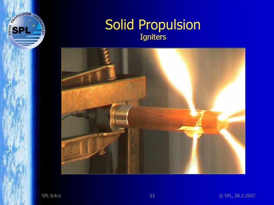 Solid Propulsion Magnesium/Teflon igniter