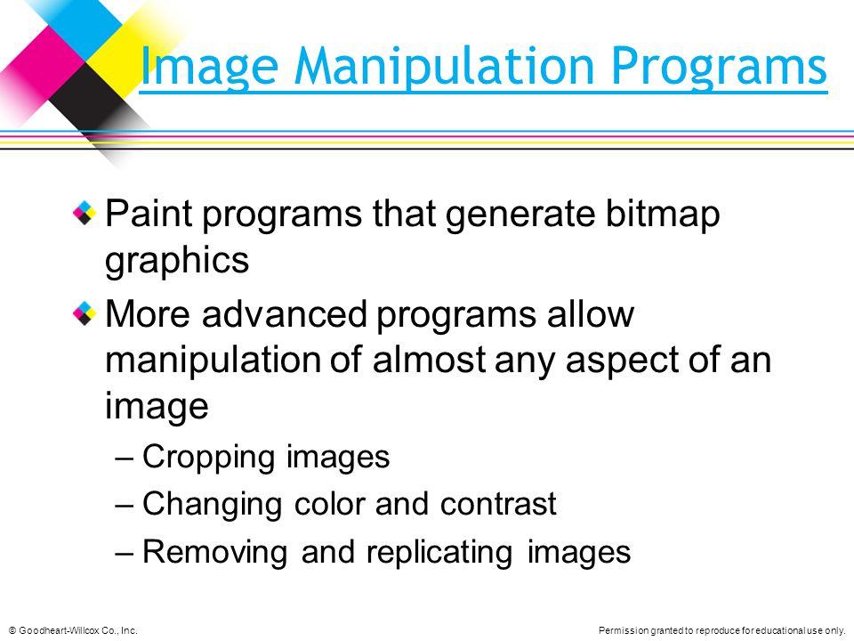 Image Manipulation Programs