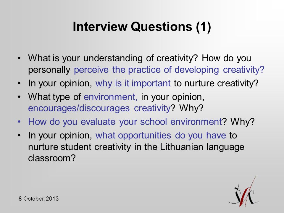 Interview Questions (1)