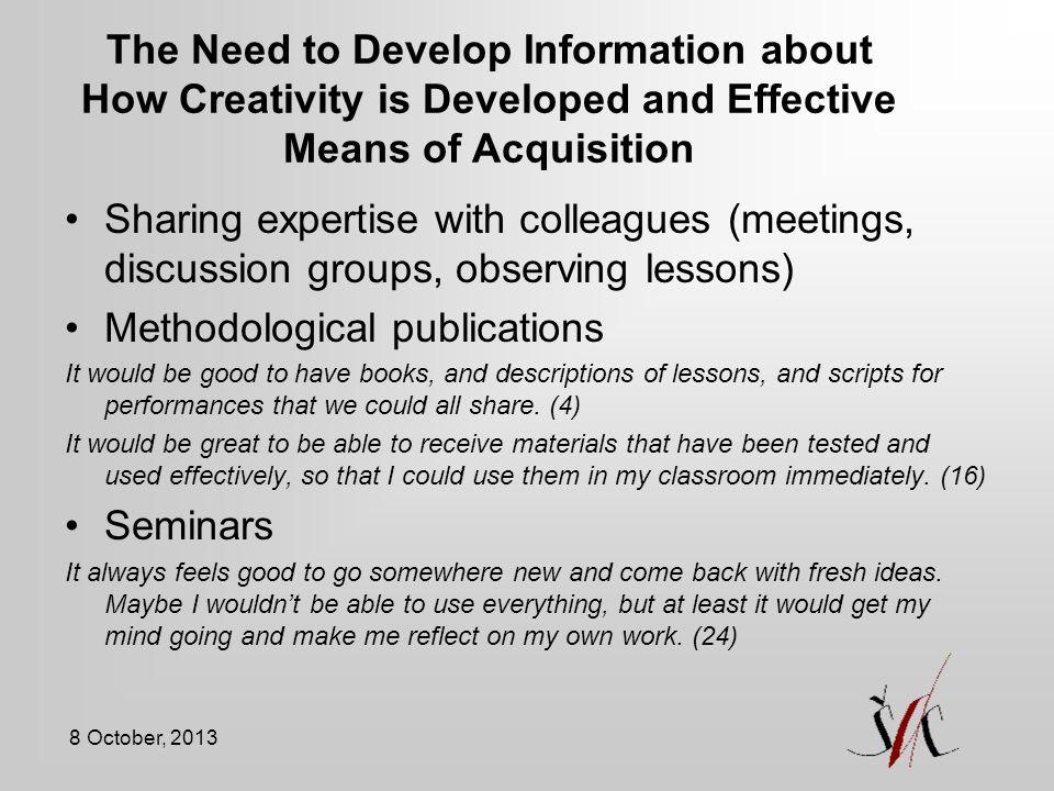 Methodological publications