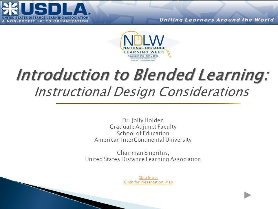 Introduction to Blended Learning: