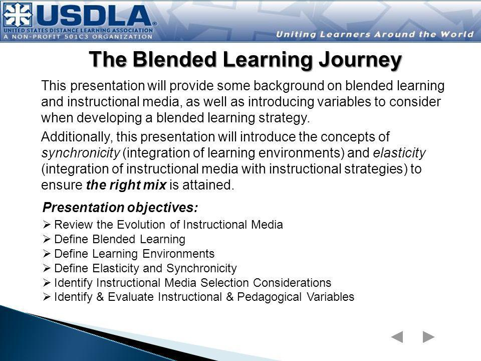 The Blended Learning Journey