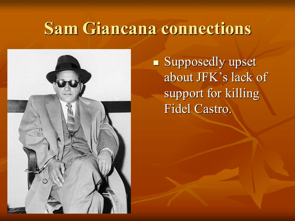 Sam Giancana connections