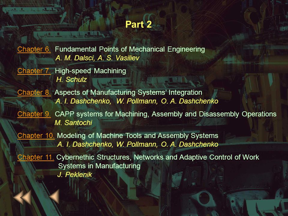 Part 2 Chapter 6. Fundamental Points of Mechanical Engineering