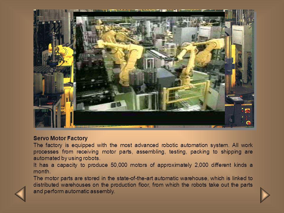 Servo Motor Factory