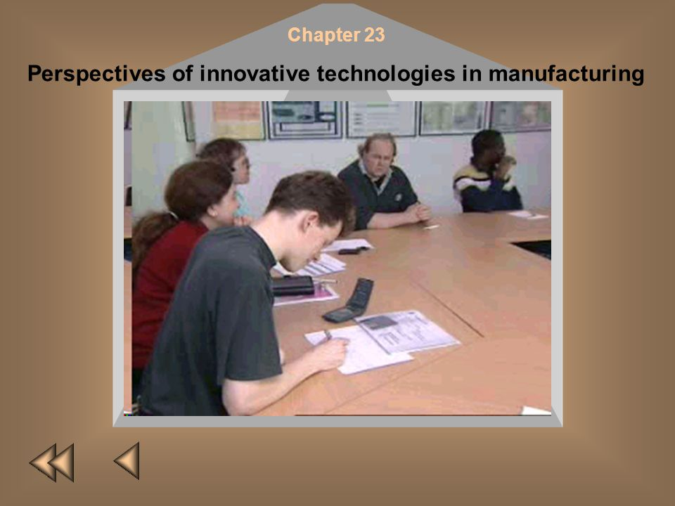 Perspectives of innovative technologies in manufacturing
