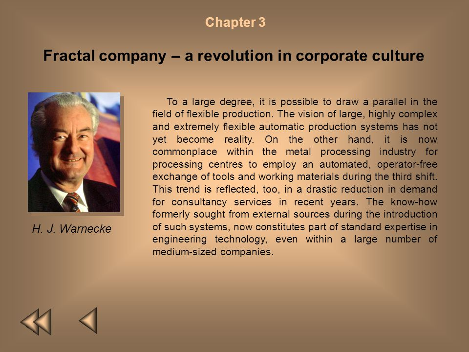 Fractal company – a revolution in corporate culture