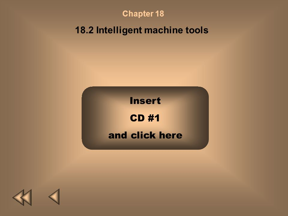18.2 Intelligent machine tools