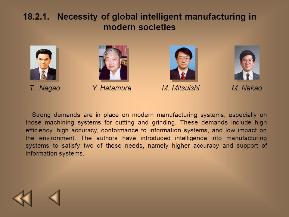 18.2.1. Necessity of global intelligent manufacturing in modern societies