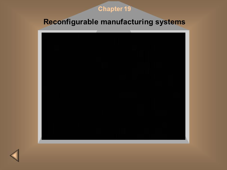 Reconfigurable manufacturing systems