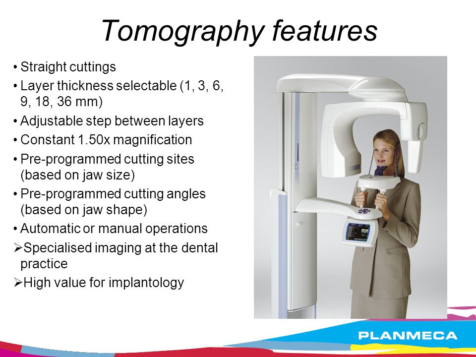Tomography features Straight cuttings