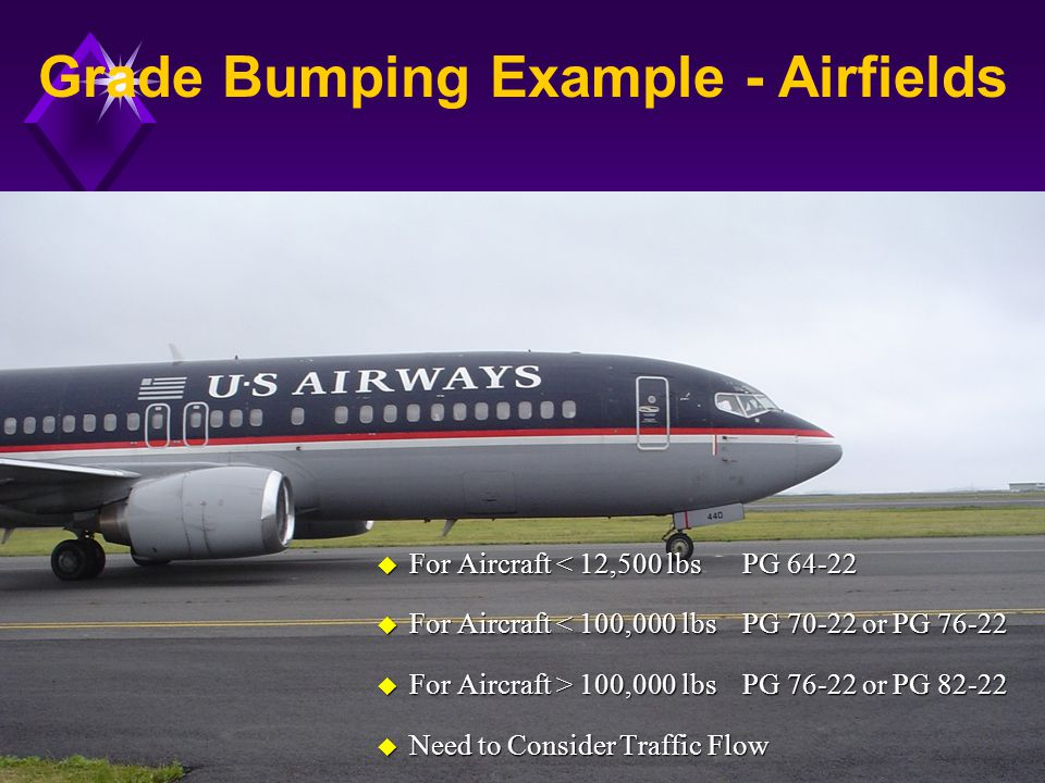 Grade Bumping Example - Airfields