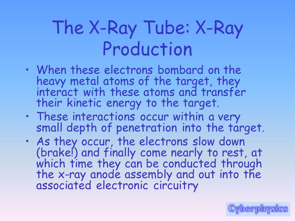The X-Ray Tube: X-Ray Production
