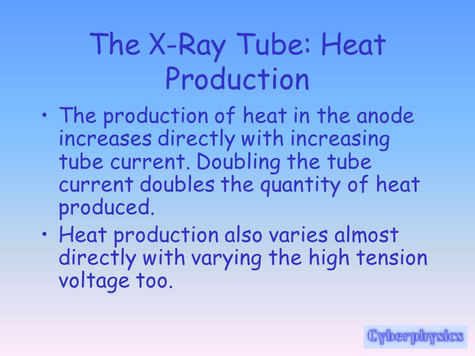 The X-Ray Tube: Heat Production