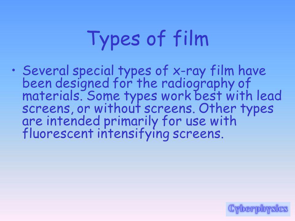 Types of film