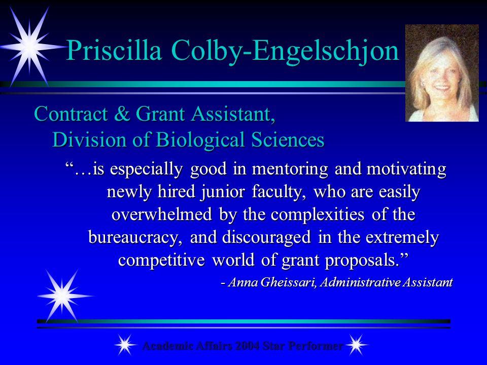 Priscilla Colby-Engelschjon