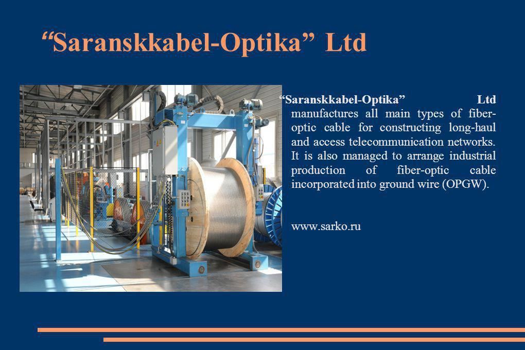 Saranskkabel-Optika Ltd