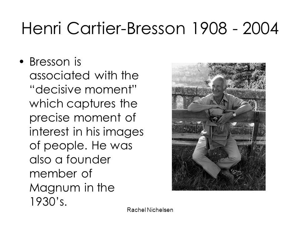 Henri Cartier-Bresson 1908 - 2004