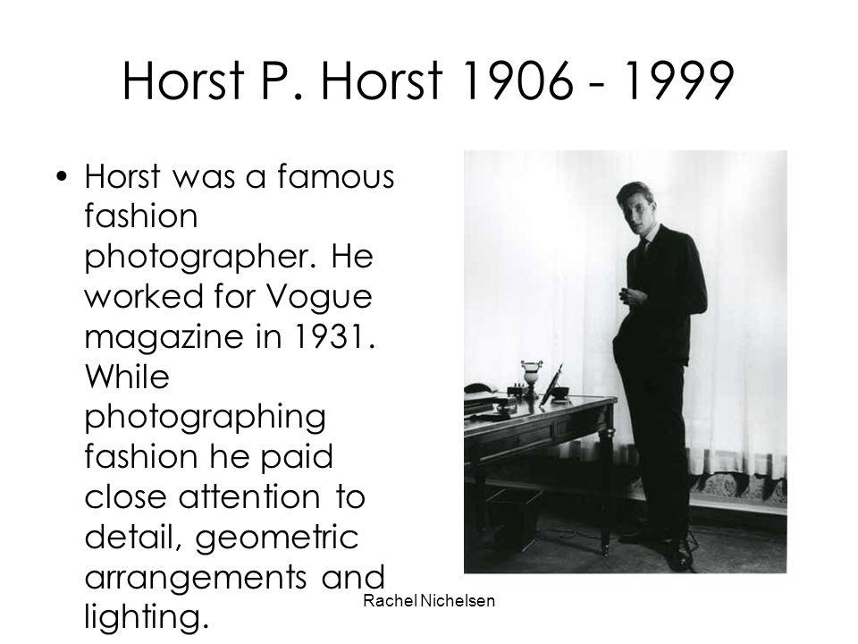 Horst P. Horst 1906 - 1999