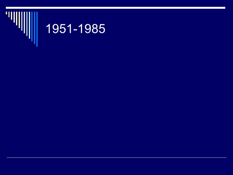 1951-1985