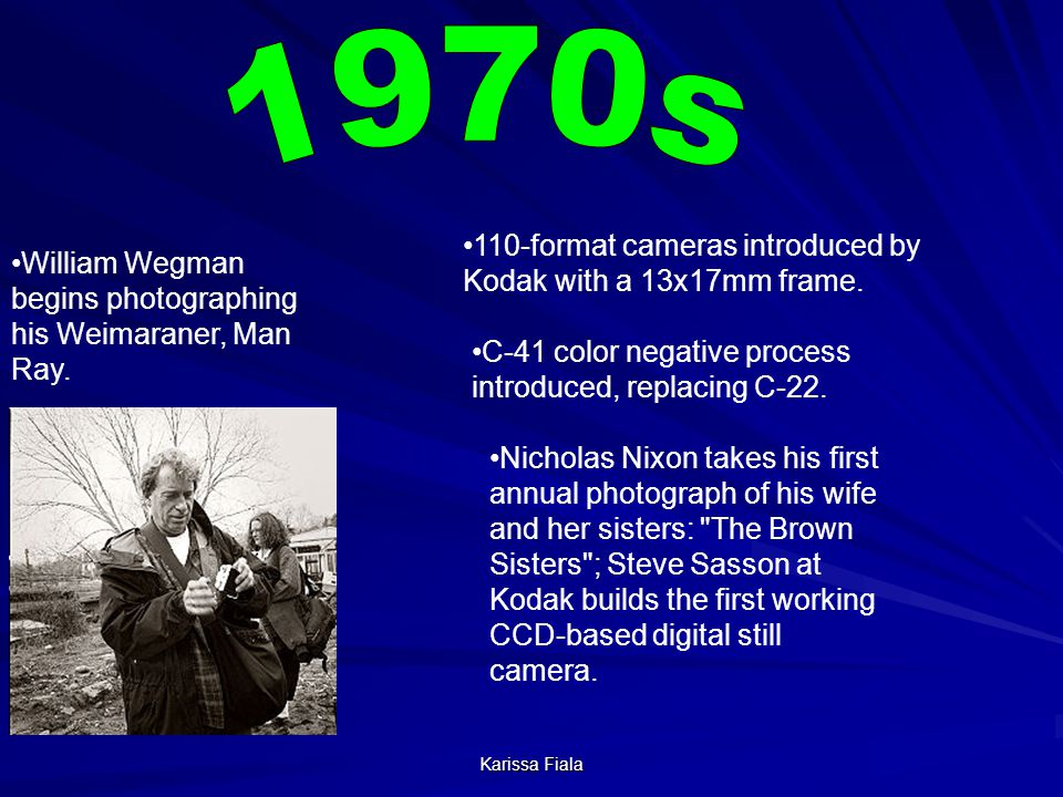 1970s 110-format cameras introduced by Kodak with a 13x17mm frame.