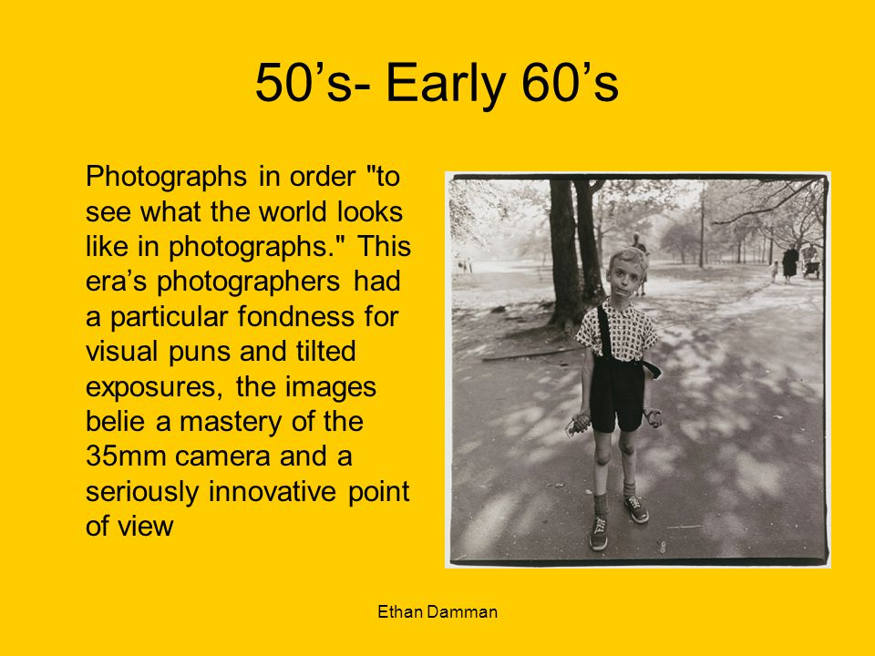 50's- Early 60's