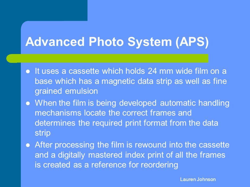 Advanced Photo System (APS)