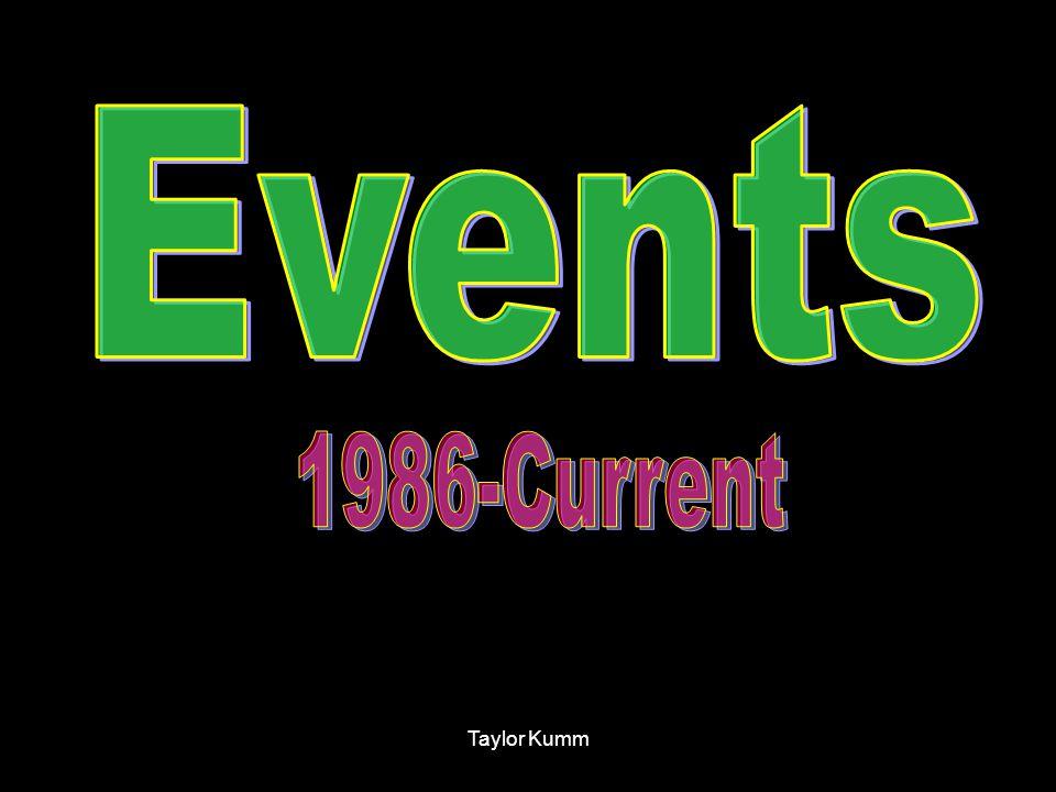 Events 1986-Current Taylor Kumm