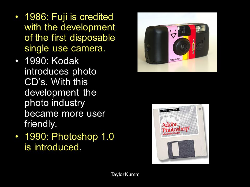 1990: Photoshop 1.0 is introduced.