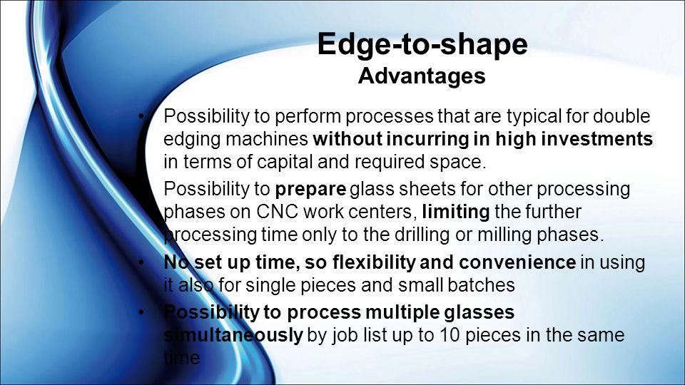 Edge-to-shape Advantages