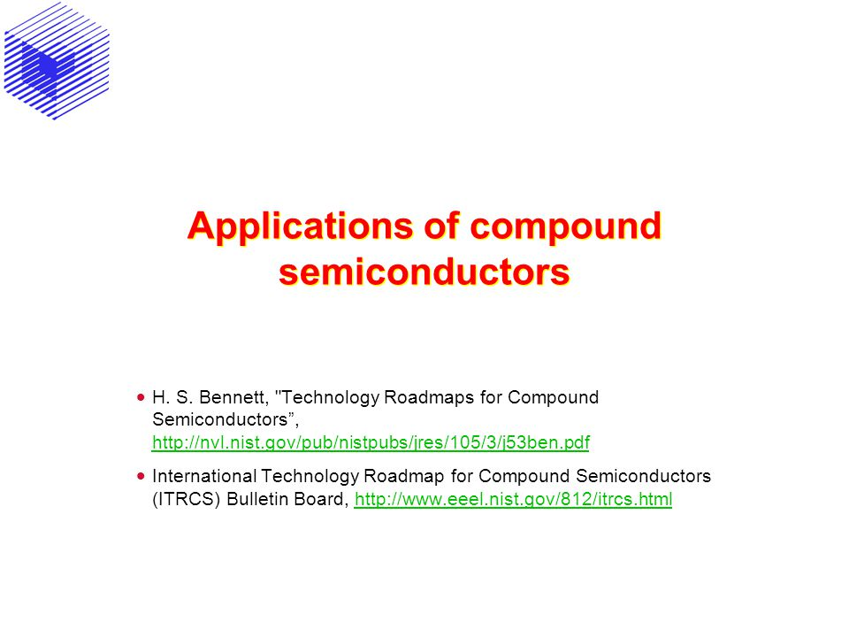 Applications of compound semiconductors