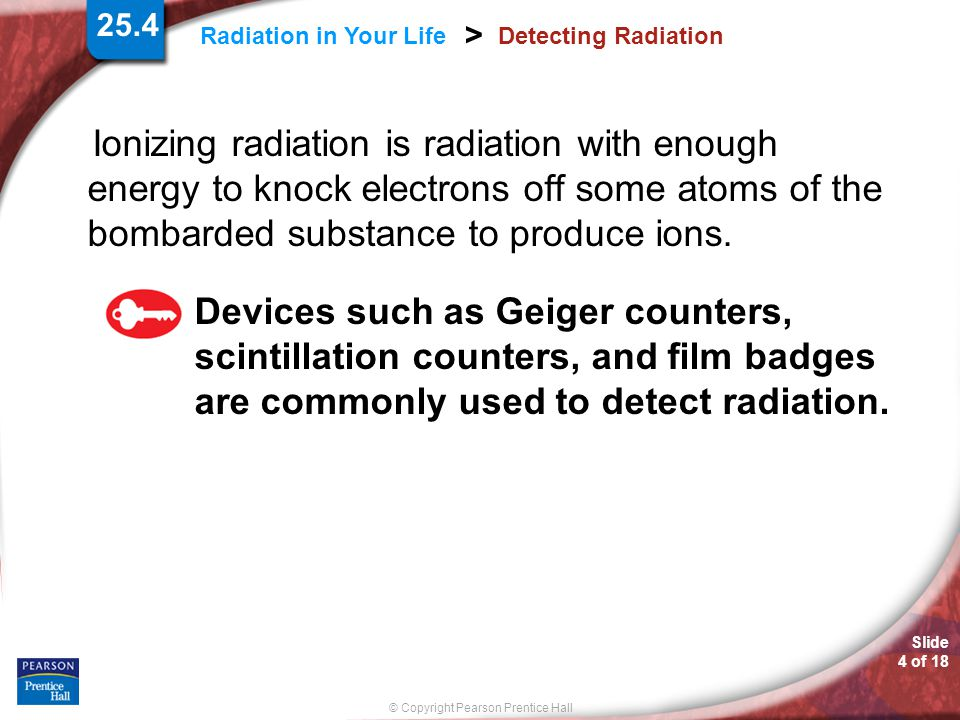 25.4 Detecting Radiation.