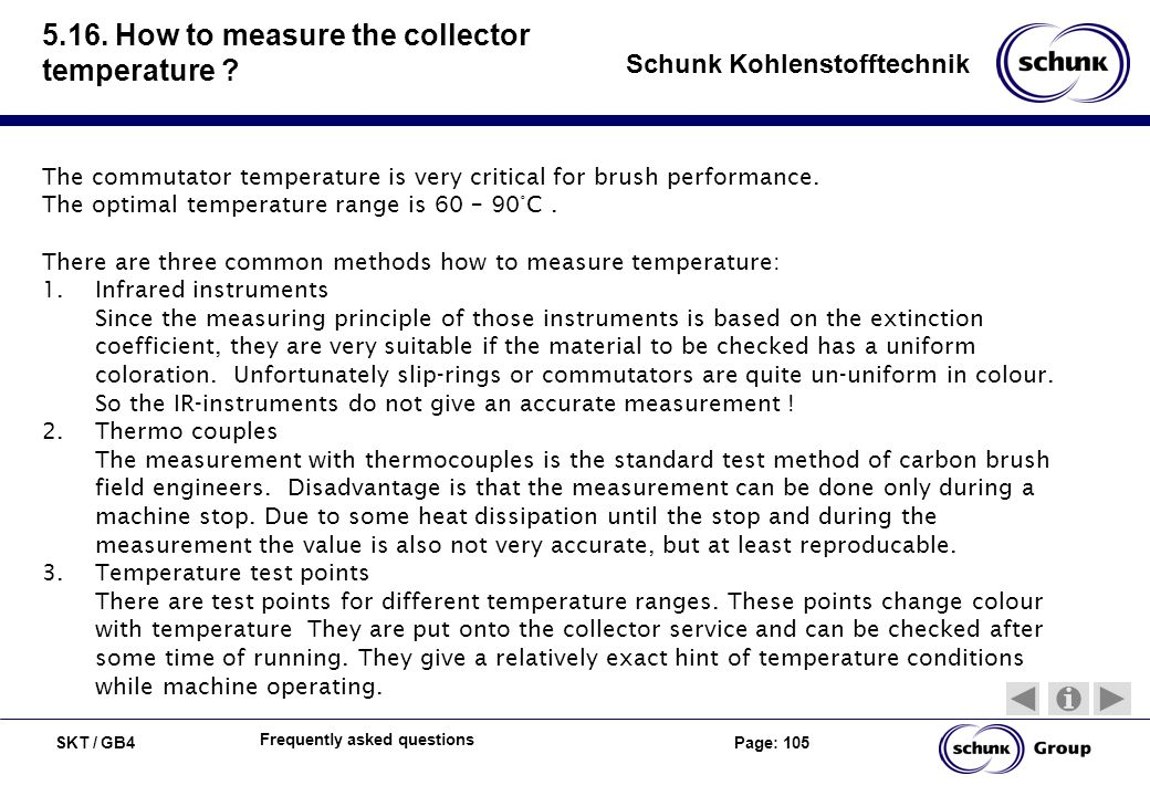 5.16. How to measure the collector temperature